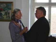 Jiří Karmazín - vernisáž výstavy 2012
