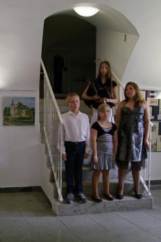 Jan Olejník - výstave ve Tvrzi Lnáře