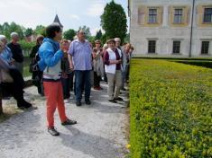 VU3V - školní exkurze 26.5.2016 Kratochvíle